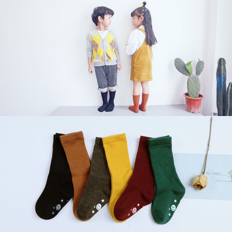 ADOMI Spring Autumn 1Pair Baby Newborn Toddler Sock Boys Girls Cute Leg Warmers For Newborns Infantile Socks