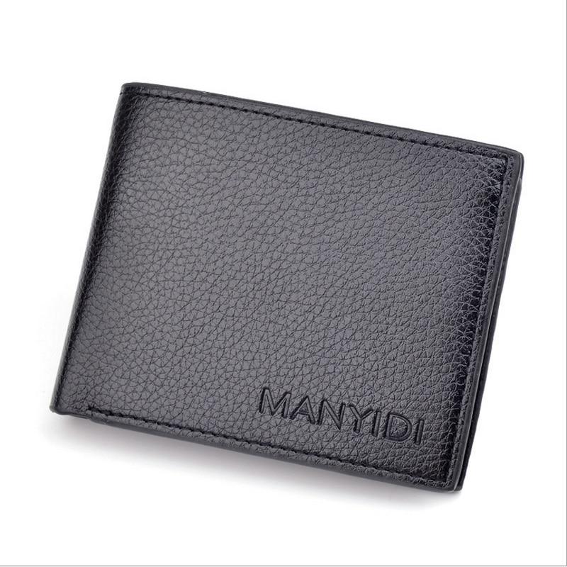 Geldbörsen & Etuis Billiger Preis Pidengbao Mens Brown Luxury High Quality Genuine Soft Leather Wallet