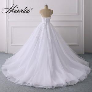 Image 3 - Summer Lace Wedding Dress 2020 Spaghetti Straps Plus Size Bridal Dress Simple Vestidos de Noiva свадебные платья for Women