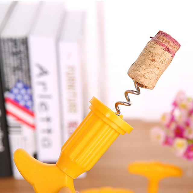 Multifunctional Bottle Mini Corkscrew