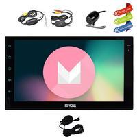 Rear Camera 2Din Head Unit Android 6 0 GPS Navigation Car Stereo Auto Radio Audio FM