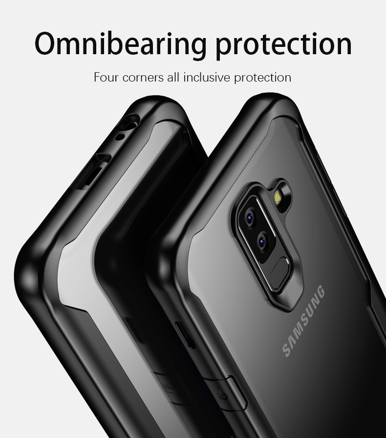 LUPHIE Case for Samsung S9 S8 Plus Note 8 Shockproof Transparent Back Cover Ultra thin Soft TPU Shell(9)