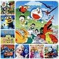 3 шт./лот Jouet Enfant Мультфильм Головоломки Детей Игрушки для Маленьких Детей Подарки Принцесса, животных, изображения, автомобили, роботы (14*14 см)