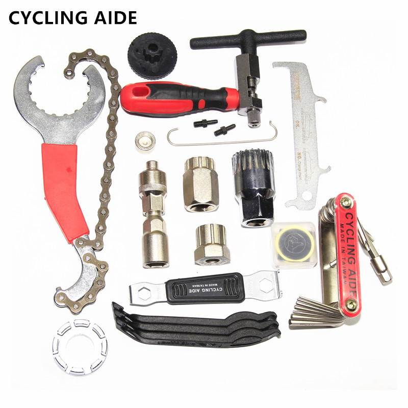 Chain-Cutter Socket Removing-Socket-Tool Crank Flywheel-Remover Bicycle title=