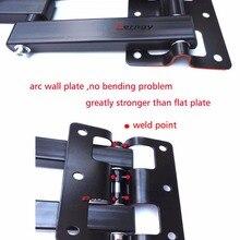 LCD-123R 360 rotate folding arm Universal LED TV Wall Mount