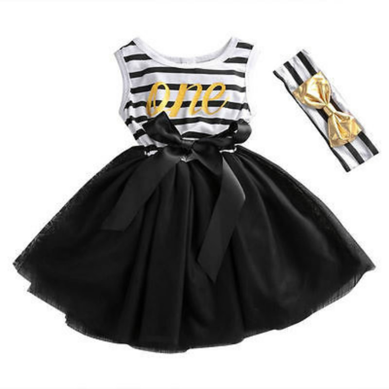 Summer Pudcoco Baby Girls Cute Bow Dress Newborn Kids Baby Girl Dress Striped Bow Party Dress Tulle Tutu Dresses Sundress 0-4Y 2016 new cute baby girls dress kids princess party denim tulle bow belt tutu dresses 3 8y