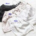 100% cortocircuitos femeninos de seda, seda pura delgada shorts mujeres, 100% polainas de seda, 100% seda boxeadores