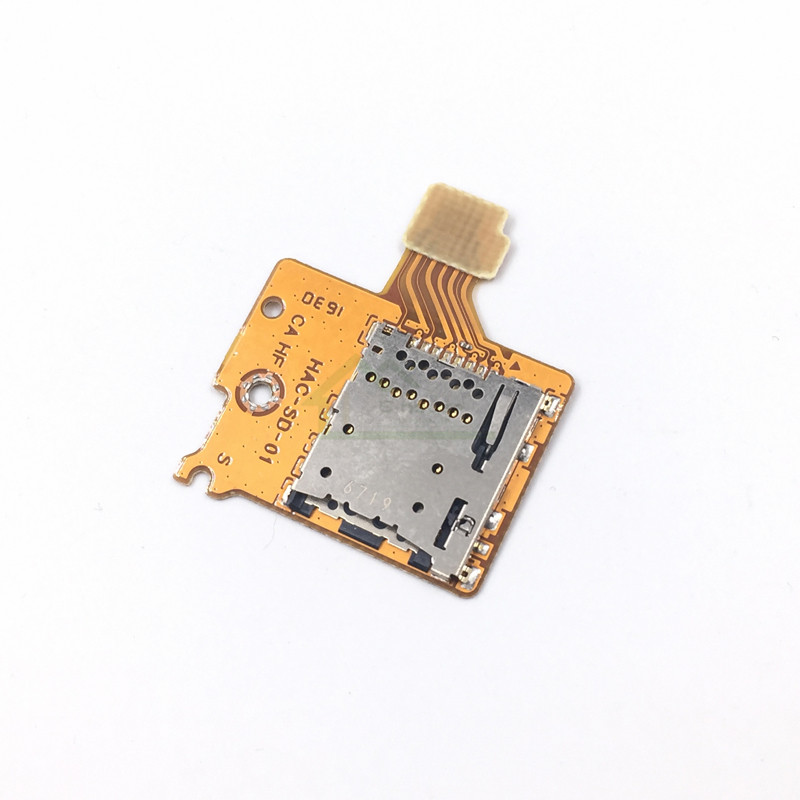 E-house SD TF Card Slot Socket Board Replacement For Nintend Switch Game Console SD Card Board Module Repair