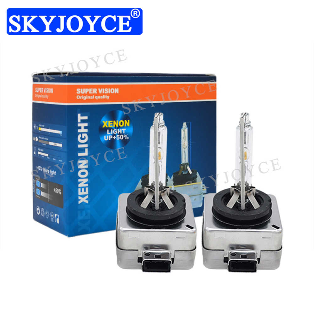 Original Car Headlight Bulbs 55W D1S D3S HID Bulb 35W D1S D1R 4300K 5000K D3S D3R 6000K 8000K 55W D1S D3S HID Replacement Bulb
