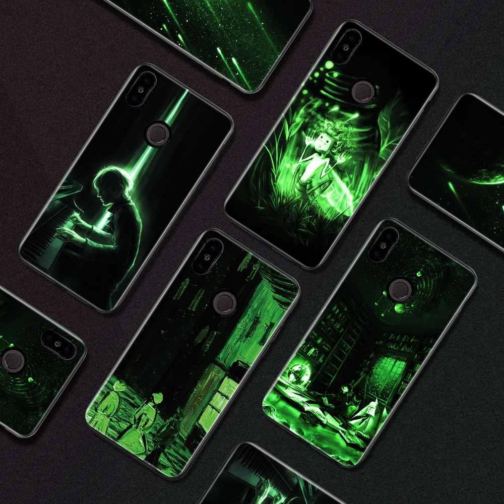 Lu mi nous Стекло Чехол Для Сяо mi красный mi Примечание 5 6 глобальные Pro 4X5 плюс 6A 6 Pro силиконовый чехол для Xiaomi mi A1 A2 Lite