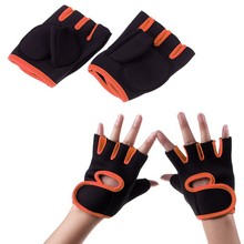 Men & Women Sports Gym Glove Fitness Training Exercise Body Building Workout Weight Lifting Gloves Half Finger