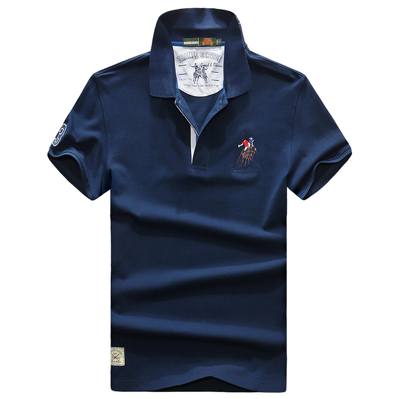 AFS JEEP Mens Polo Shirt Brands Clothing 2018 Summer Cotton Polo Shirts Short Sleeve Men Big Size Polos Shirt Jersey Summer Tops