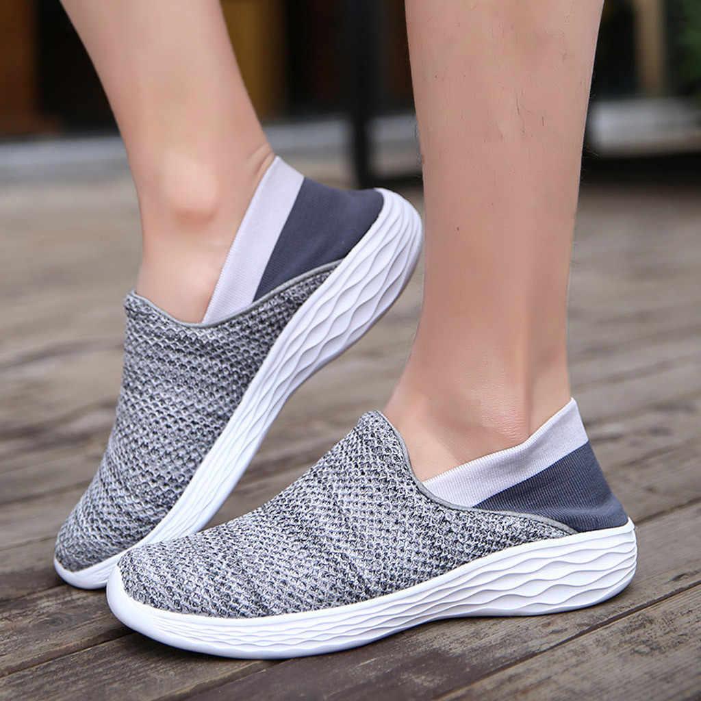 091558da Perimedes женские модные женские уличные сетчатые повседневные женские  мягкие крутые спортивные туфли беговые дышащие женские кроссовки