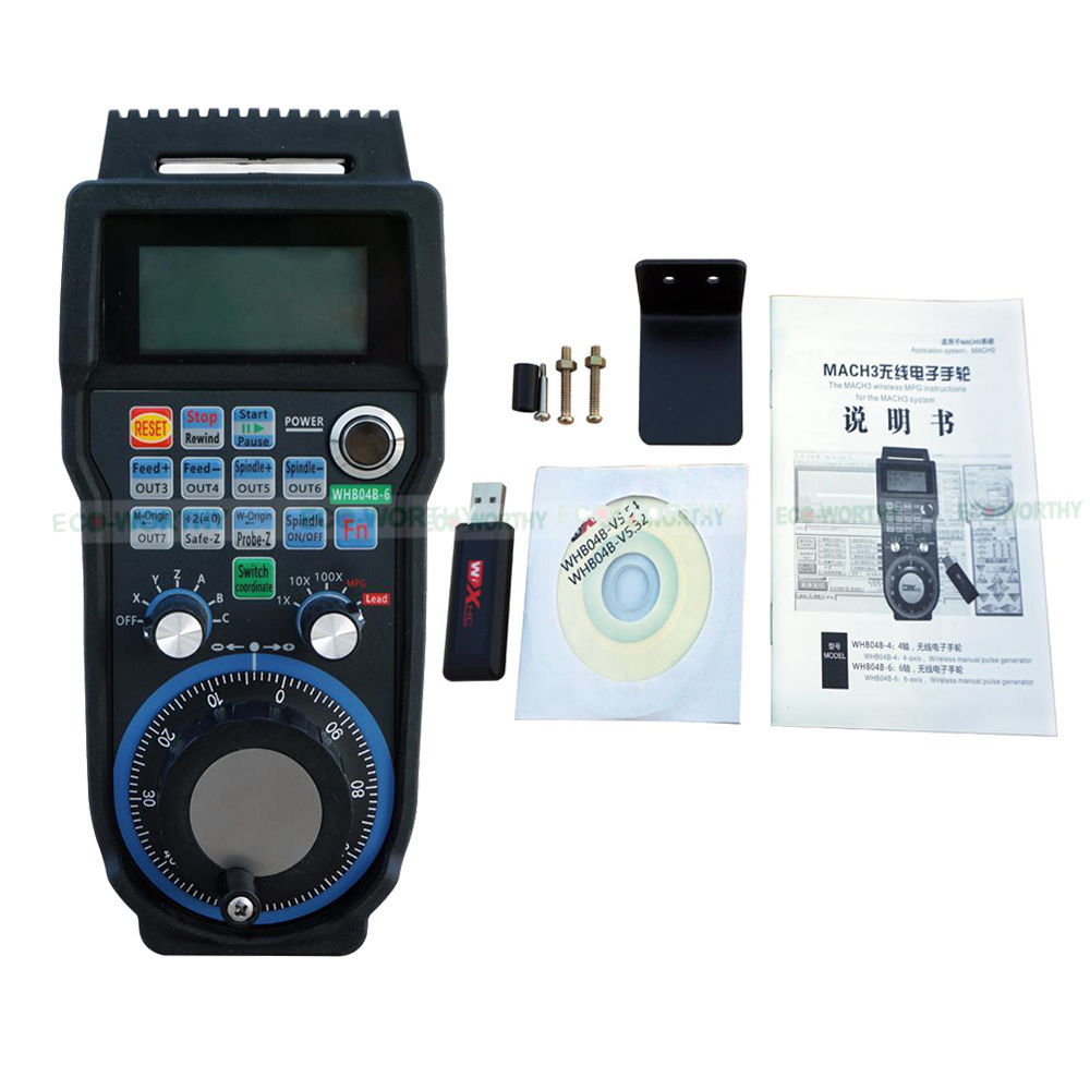Wireless Handwheel CNC fraser Elektronisches Handrad Encoder for Mach3 6 Achse m fraser fraser moped maintenance and repair paper only