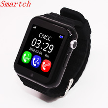 Smartch 2017 New Fashion V7K GPS Bluetooth Smart Watch for Kids Boy Girl Apple Android Phone