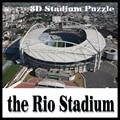 3D puzzle football stadium The Rio stadium  puzzle model Games Brazil Stadium souvenir Toys Halloween Christmas