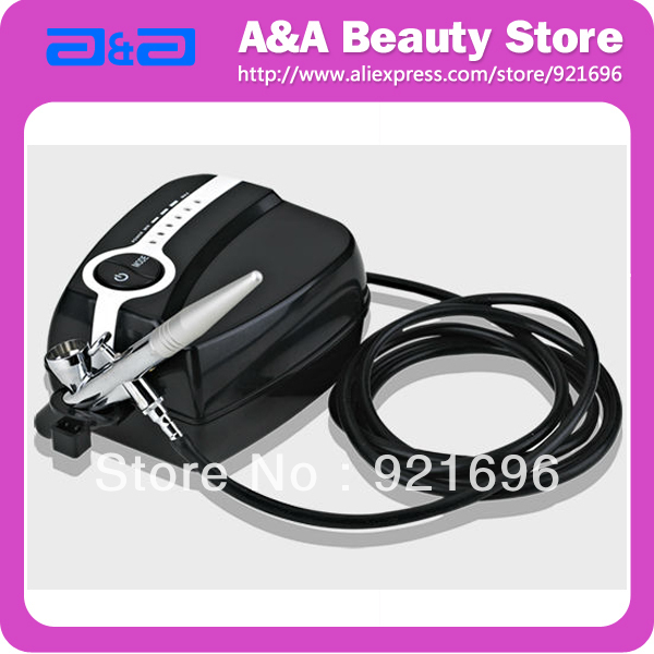 Portable Makeup Airbrush Mini Air Compressor 5 Speed Airbrush tattoos 24 hours Working
