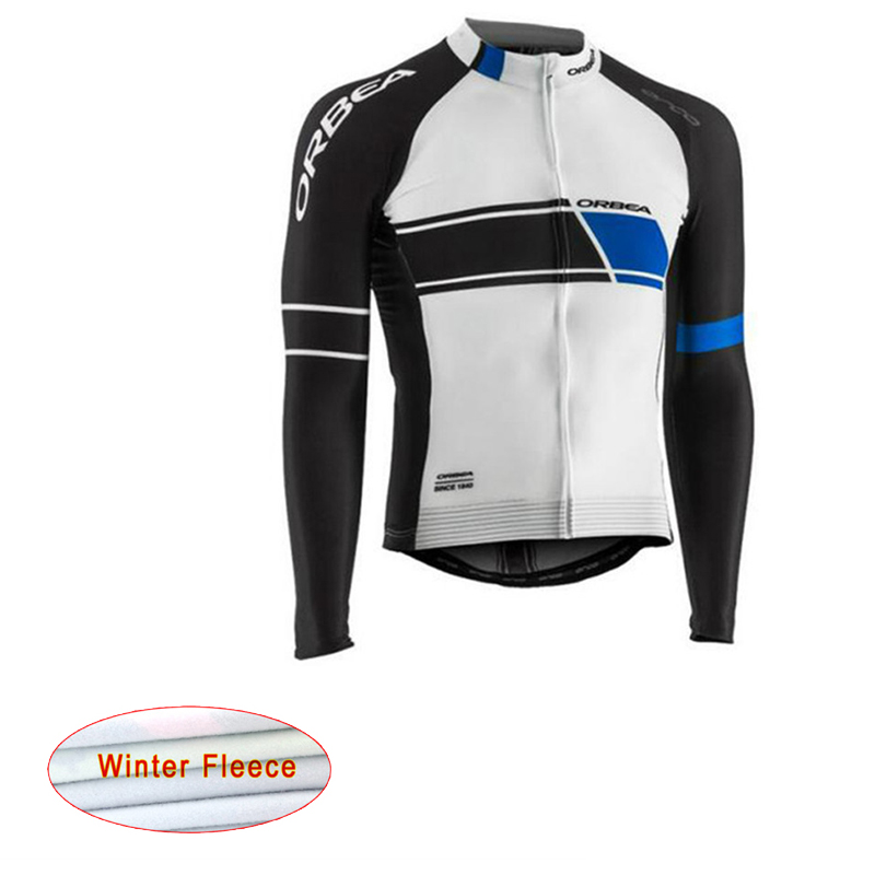 Cycling Jersey Orbea Pro winter thermal fleece Long Sleeve cycling jersey clothing MTB Cycling clothes Mens Cheap China Shirt