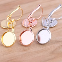 onwear 20pcs fit 12mm rose gold stainless steel lever back blank cabochon earring base settings diy findings for jewelry making 10pcs fit 12mm stainless steel cameo glass cabochon metal bezel french lever blank base earring back for diy jewelry findings