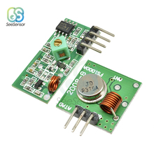 5Pcs 433MHz RF Transmitter Receiver Module Set Wireless Remote Control Link Kits ARM/MCU WL 315MHZ DIY Electronic for Arduino