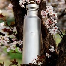 Keith nuevo titanium hervidor acampar al aire libre ciclismo senderismo picnic sport botella 700 ml 113g ti32 función bacteriostática