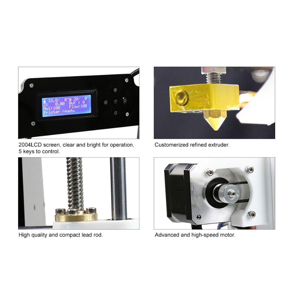 Anet A8 A6 Auto Niveau A8 A6 3d Imprimante Haute-précision Extrudeuse Reprap Prusa i3 3D Imprimante Kit DIY impresora 3d avec PLA Filament - 6