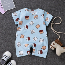 Uniesx Newborn Baby Rompers Clothing Infant Jumpsuits 100%Co
