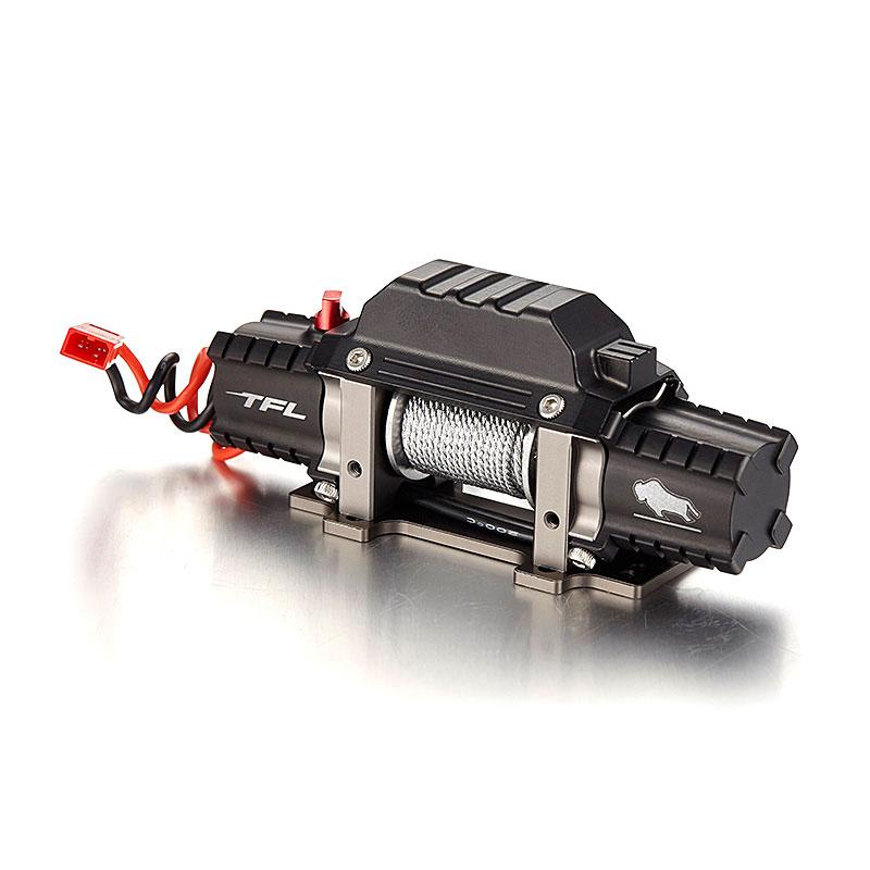 Full Metal di Emulazione Argano Con Doppio Motore Per RC Crawler Camion-in Componenti e accessori da Giocattoli e hobby su  Gruppo 1