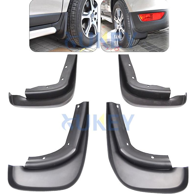 Car Custom Mud Flaps Splash Guards for Audi Q5 2009-2016 2017-2018 Fender Flares Mudflaps Mudguards Front and Rear Wheel 4Pcs