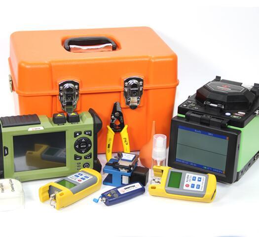 T40 Fusion Splicer W Fiber Cleaver Tr600 Sm Otdr