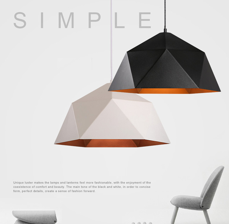 Industry iron pendant light Nordic hanging lights Modern Pendant Lights Hanging Lamps Home Lighting Fixture Deco Black nordic pendant lights european pendant lighting fixture home indoor lighting american country hanging lamps aluminum drop light