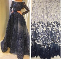 Hot selling net tulle lace new arrival african lace fabric french nigerian fabric for fashion
