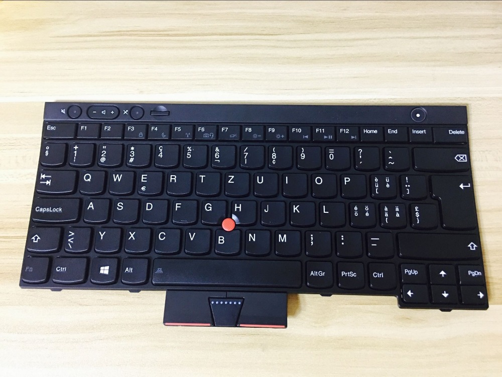 New notebook laptop keyboard for Lenovo ThinkPad L430 W530 L530 X230 X230i X230t T430 SW/SWISS/GERMAN/RUSSIAN layout купить недорого в Москве