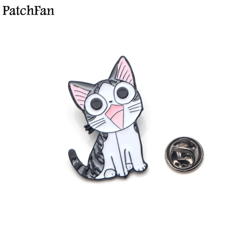 Home & Garden Honest 20pcs/lot Patchfan Chis Cat Sweet Home Tie Cartoon Funny Pins Backpack Clothes Brooches For Men Women Hat Badges Medals A1813 Rich And Magnificent Arts,crafts & Sewing