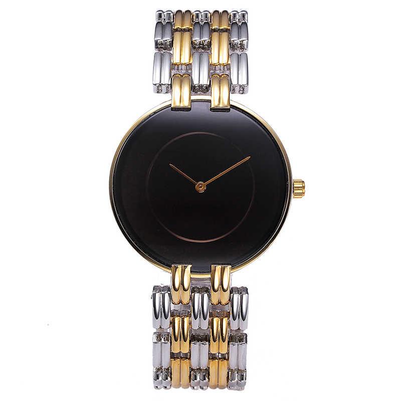 Missfox黒シンプルな腕時計女性ファッションカジュアルミニマリd.wブランドスタイルウワー女性ゴールド腕時計女性時計