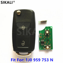 Car Remote Key for 1J0959753N 5FA009259 55 Beetle Bora Polo Golf Passat for VW/VolksWagen 1998 1999 2000 2001 2002