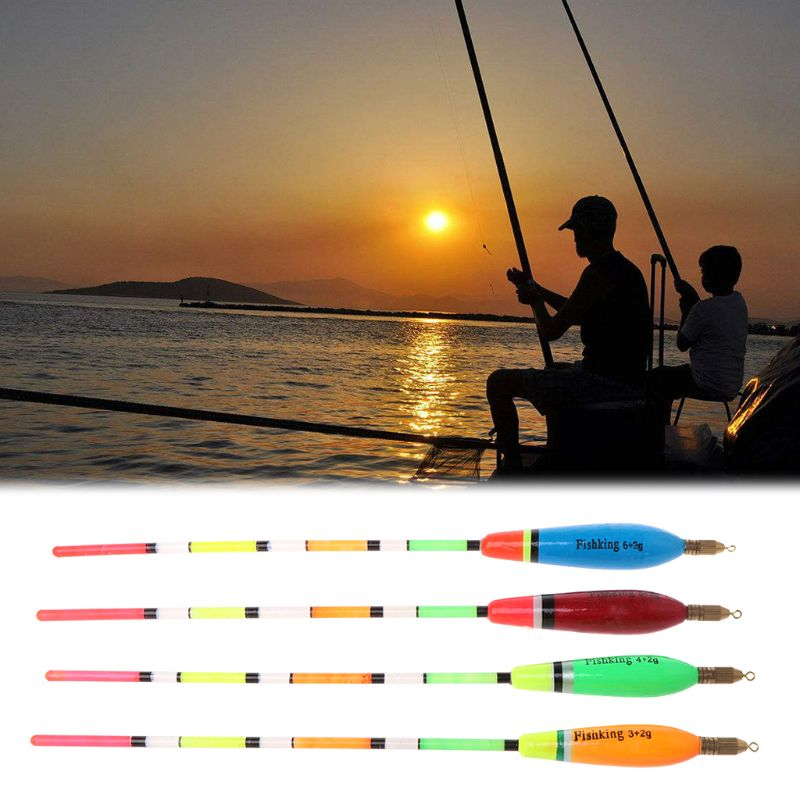 5Pcs/Lot Fishing Floats 3+2G/4+2G/5+2G/6+2Gg For Carp Fish Tackle Tools