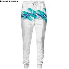 PLstar Cosmos Drop shipping 2018 new Fashion Pants Hot 3d trousers 90s Paper Cup Print Men Women  Casual joggers Pants