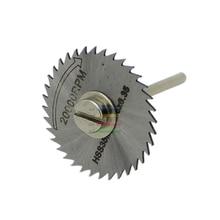 1pcs 35mm HSS Circular Saw Blades Set Cut off Fit Wood Aluminum Cutting Disc For Dremel Rotary Tools Accessories