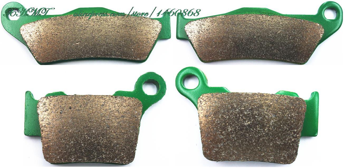 Disc Brake Pads Set For Ktm Sx-F 250 2006 2007 2008 2009 2010 2011 2012 2013 2014 2015/ Sx-F 350 2011 &Up/ Sx-F 450 2007 &Up