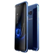 Металлический корпус для Samsung Galaxy S8 g9500 Алюминий Рамки Телефон задняя крышка для Samsung Galaxy S8 плюс G9550 металла Fundas