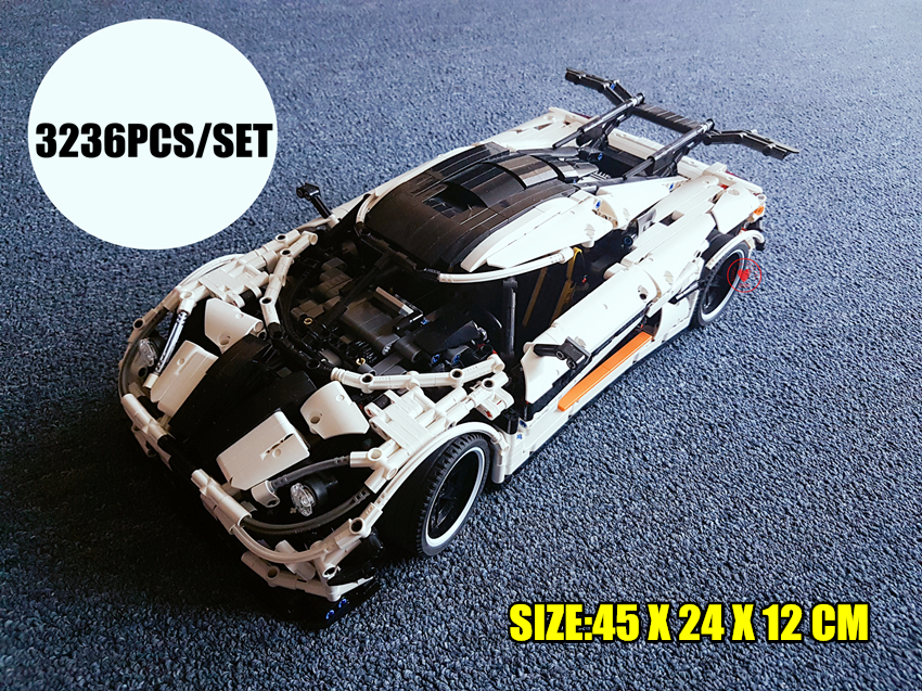 New Technic series The MOC-4789 Changing Racing Car fit legoings technic moc city racer Model Building Block Bricks Children Toy