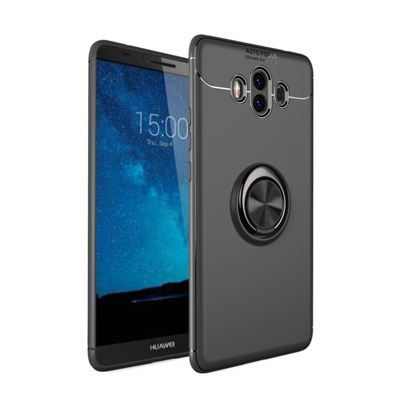 Ring Phone Case For Huawei Mate10 Lite Mate10 Pro Mate 9 Pro Car Ring Holder Stand Cover For Huawei Mate 10 Lite Coque Cases