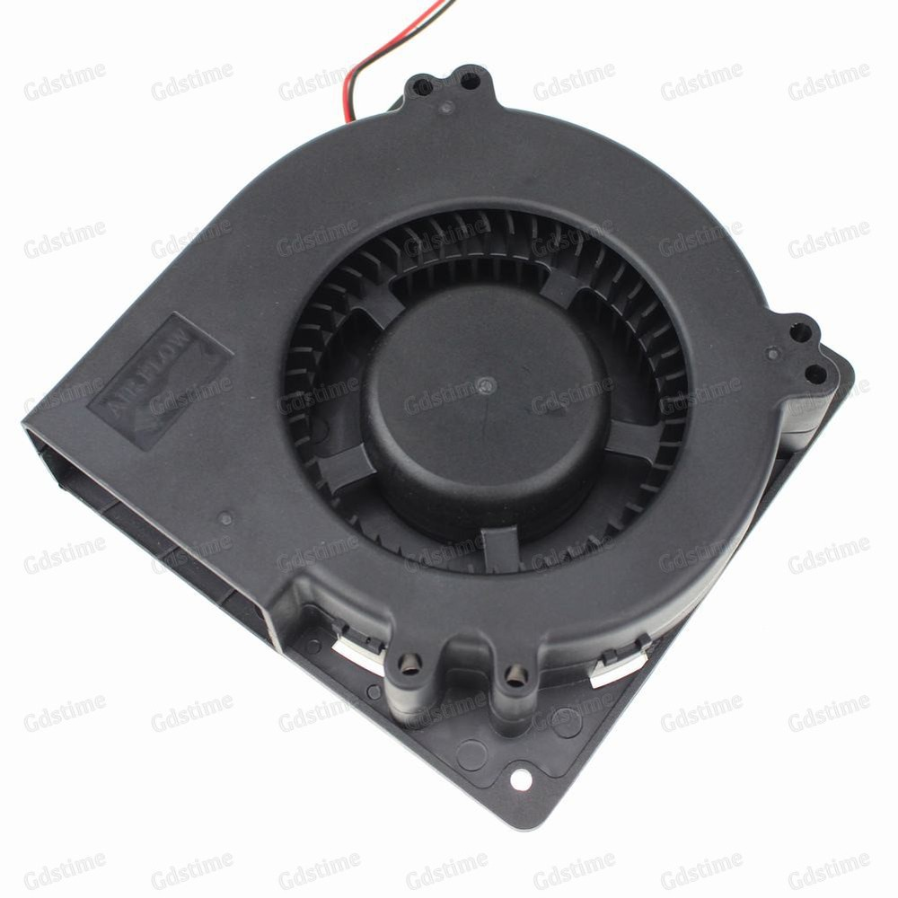 1pcs Gdstime 12v 120mm Large Turbo Fan 120mm x 32mm Brushless DC Blower Cooling Fan 12Volt 12032 120x32mm gdstime 10 pcs dc 12v 14025 pc case cooling fan 140mm x 25mm 14cm 2 wire 2pin connector computer 140x140x25mm