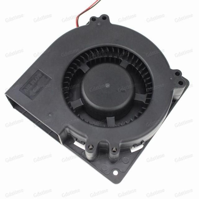 Large 12 Volt Fan : Pcs gdstime v mm large turbo fan