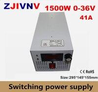 S 1500 36 CE утвержден SMPS Led Регулируемый импульсный источник питания 0 36 В 41.6A 1500 Вт 110/220 В переменного тока в dc 36 В