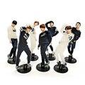 Любовь спасибо BTS Bangtan мальчики KPOP звезды группа акриловая подставка фигурка модель двухсторонняя пластина Держатель торт Топпер идол человек - фото