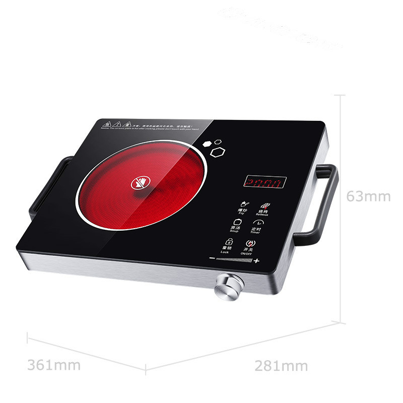 Hot Plates Table electric ceramic furnace household light wave stove cooker fired far infrared induction NEW