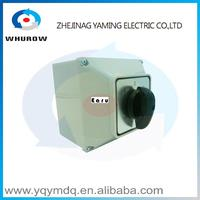 LW26 63M Switch Box With Protective Box 63A 2 Poles High Quality Electrical Momentary Changeover Rotary