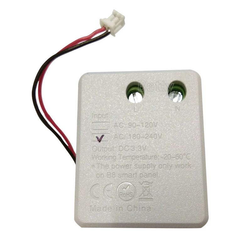 AC110V Or AC220V Input To Output DC3.3V Power Only Work On Mi Light B8 Smart Touch Panel Controller